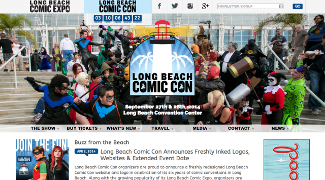 Long Beach ComicCon