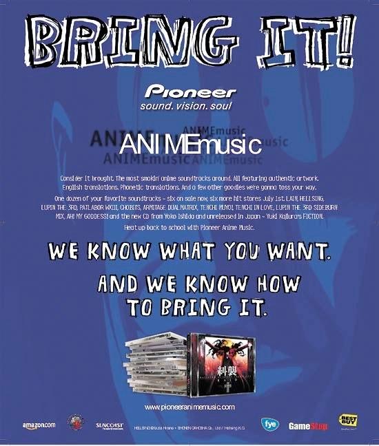 Pioneer AnimeMusic Ad #1