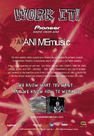 Pioneer AnimeMusic Ad #3