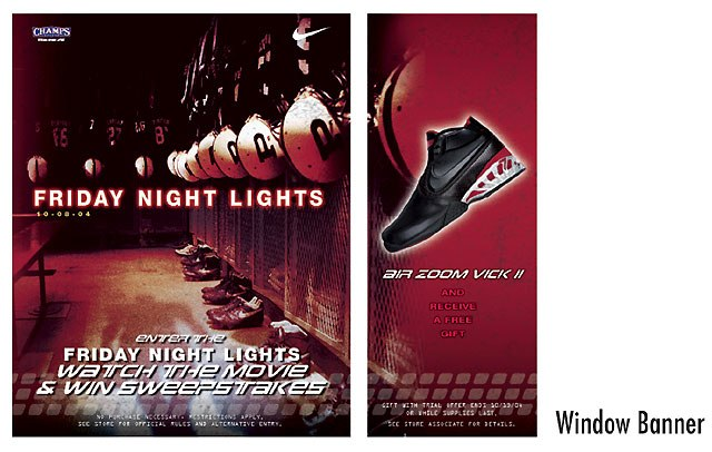 Nike/Friday Night Lights In-store POP #2