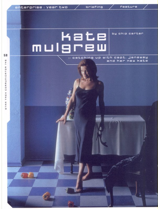 Kate Mulgrew Interview Page 1