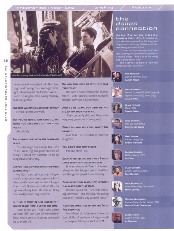 Kate Mulgrew Interview Page 5