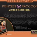 Princess Raccoon DVD website