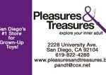 Pleasures& Treasures Business Card