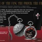 Hellsing Limited Edition Watch Postcard - Back